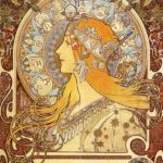 zodiac Alphonse Mucha Paintings