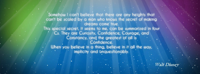 Amazing walt disney quote