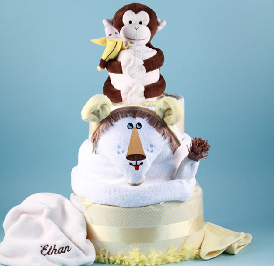 Unique Baby Shower Cake