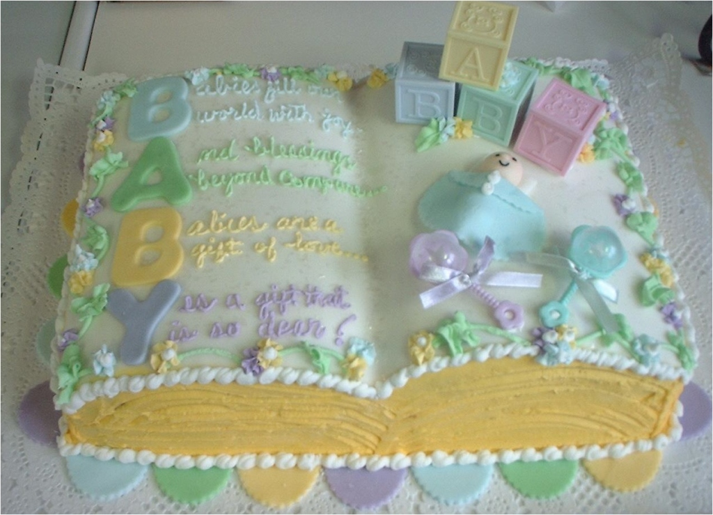 40 creative baby shower cakes and ideas - Unique girl baby shower themes ...