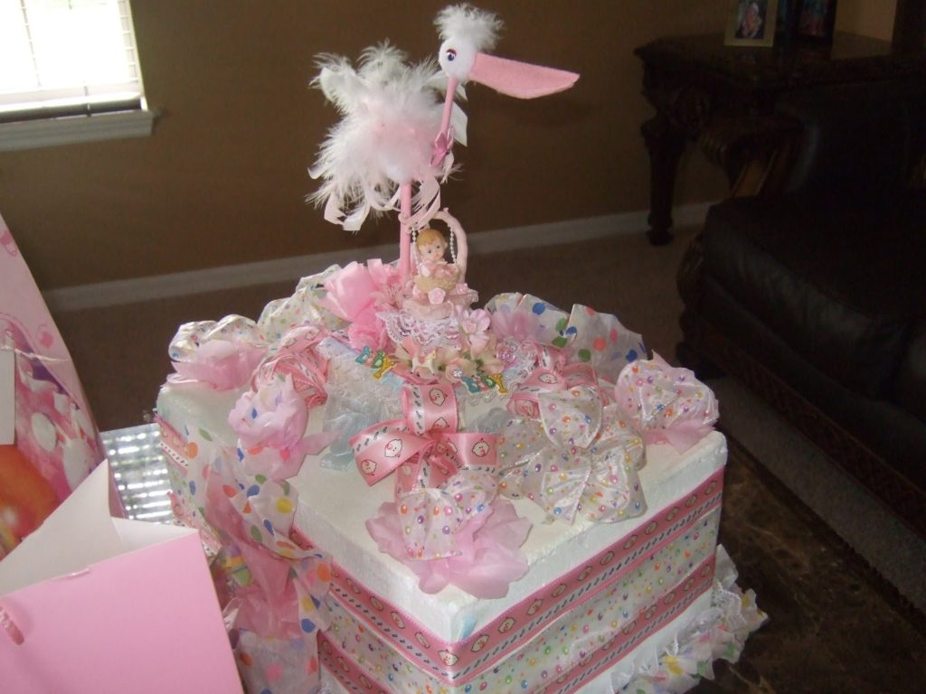 baby shower centerpieces for girl