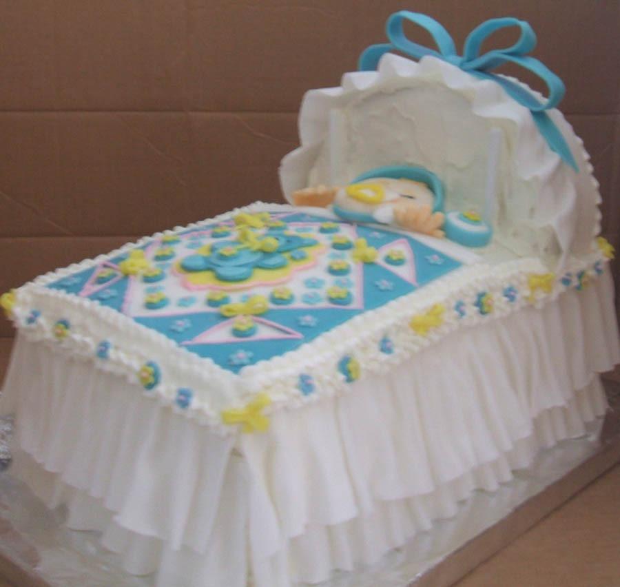 cradle Shower Cake Ideas