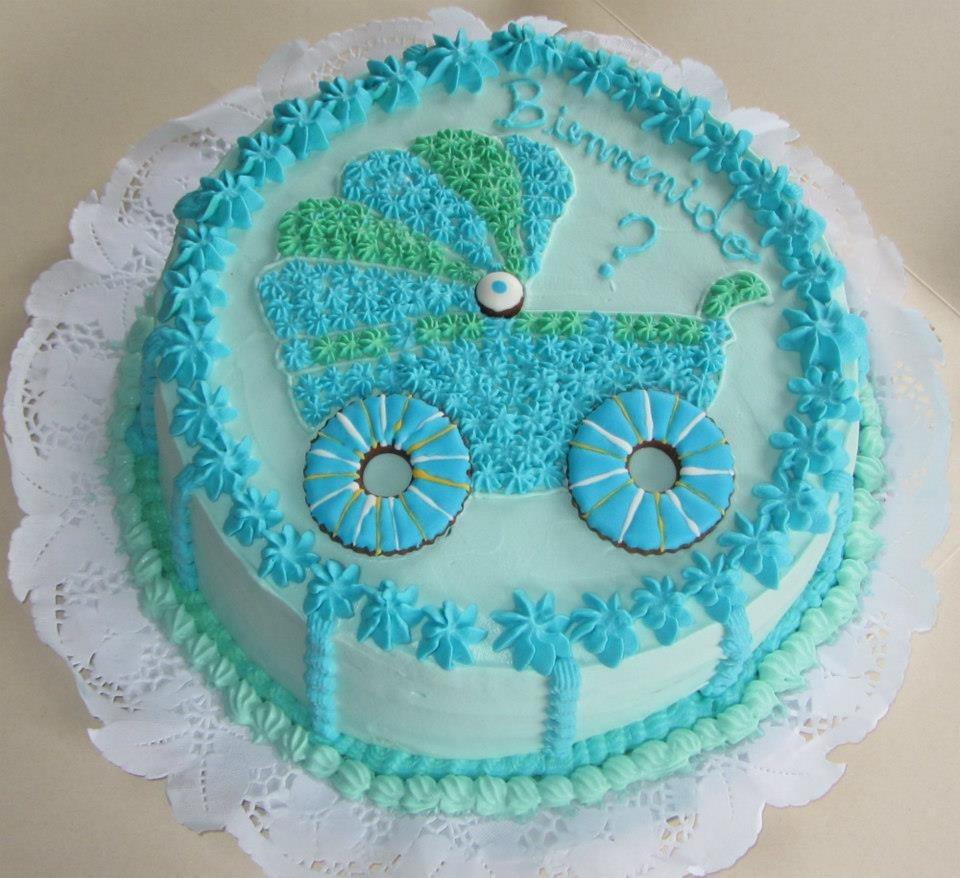 torta para baby shower cake