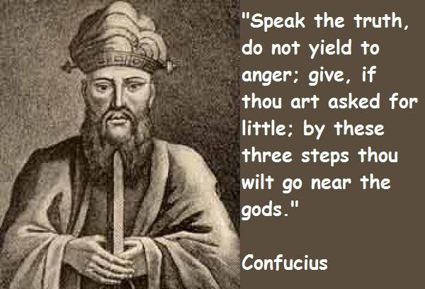 Confucius famous sayings