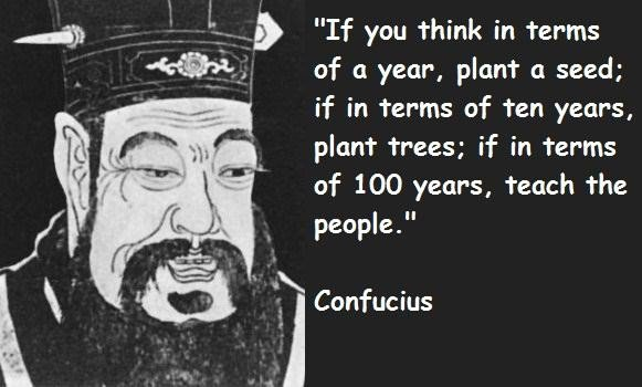 Confucius planning quote