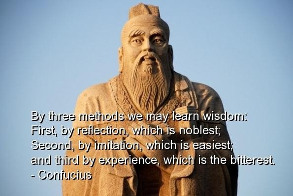 Famous confucius quote