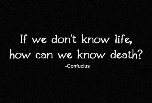 confucius death quotes