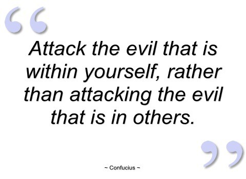 evil quotes-confucius