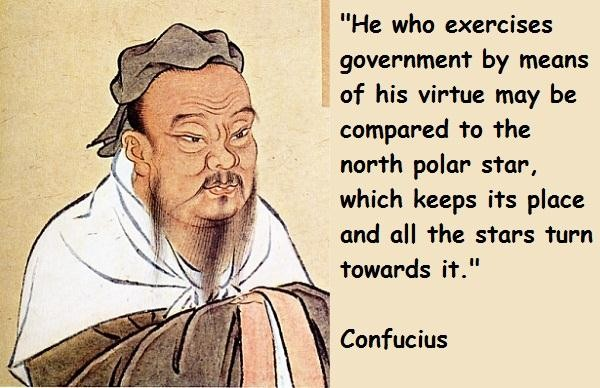 government confucius quotes