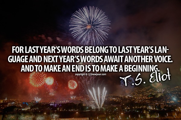 New Year Quote 2015