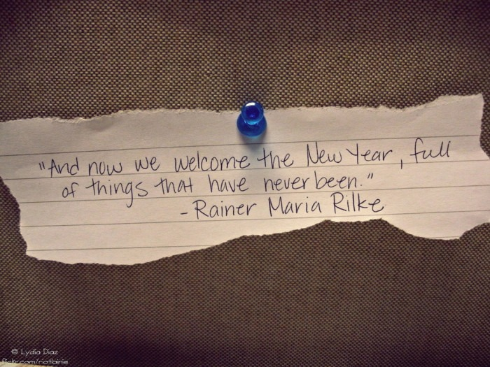 Quote about New Year