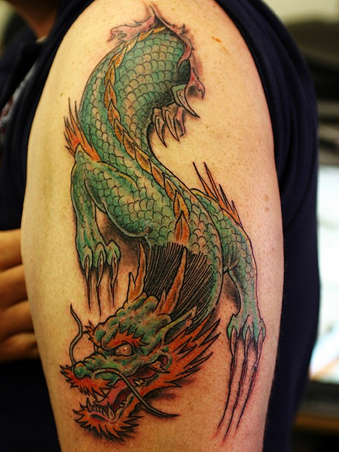 American Dragon Tattoo
