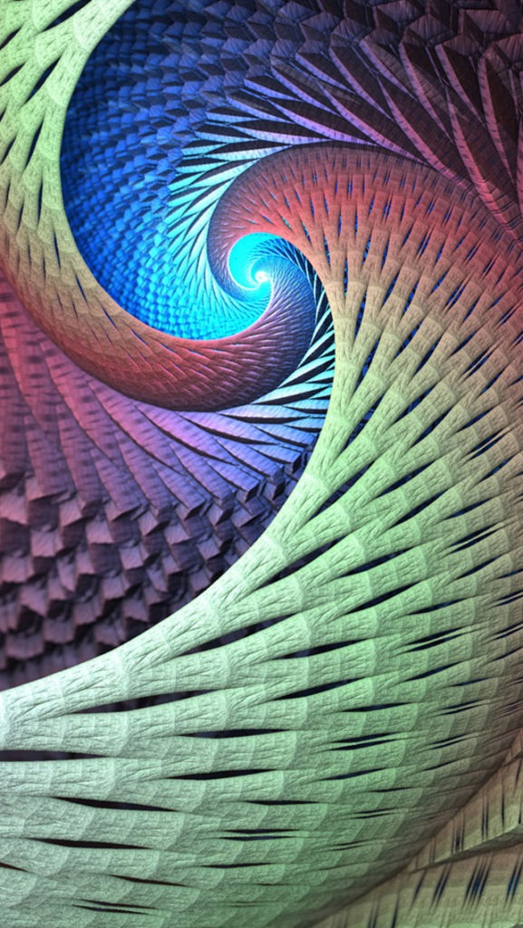 Colorful Swirls Iphone Wallpapers