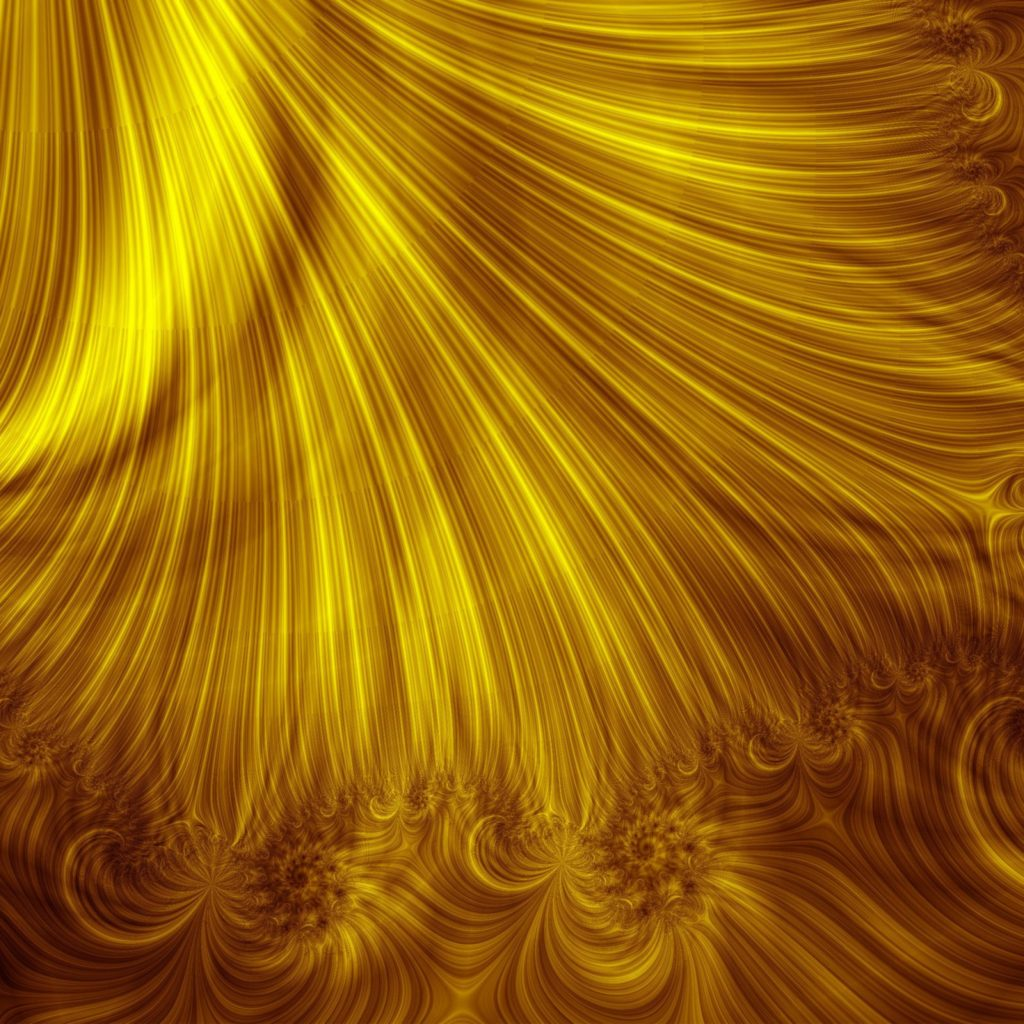 Curve Gold Background