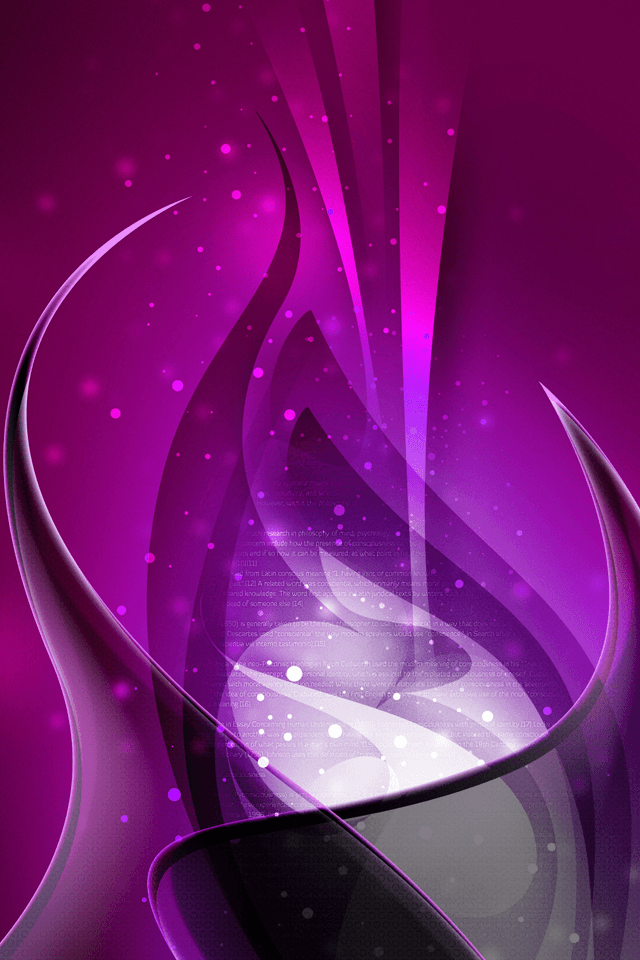 Purple Swirls iphone