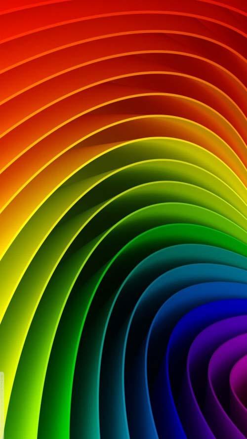 iphone5 wallpapers rainbow