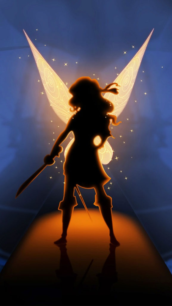 the pirate fairy iphone wallpaper