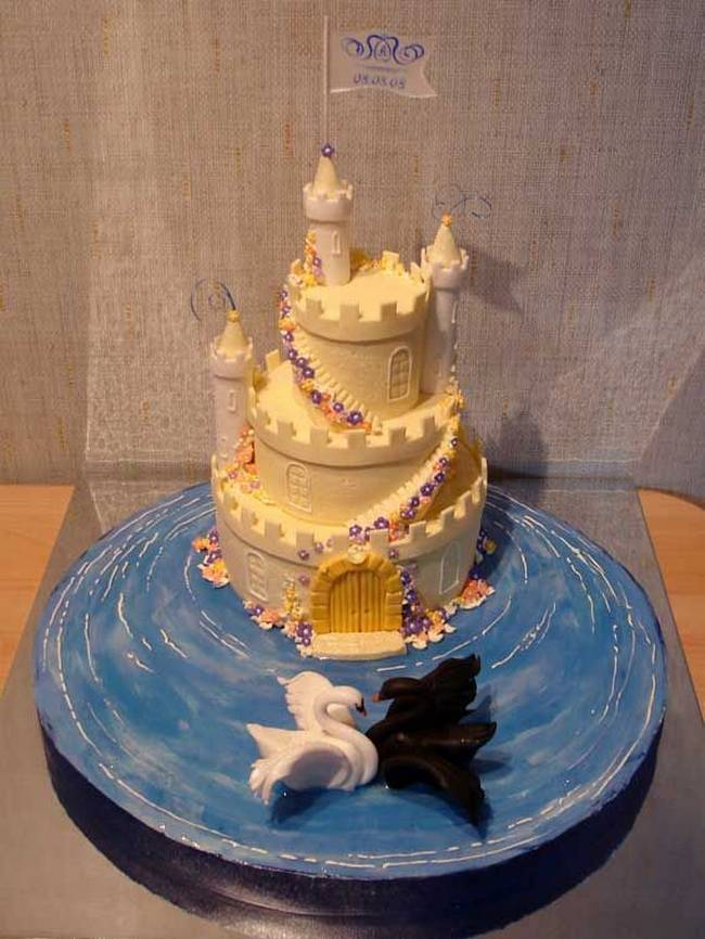 swan wedding cake 60 unique wedding cakes designs 20670